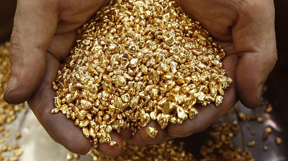 Золото без примесей посторонних