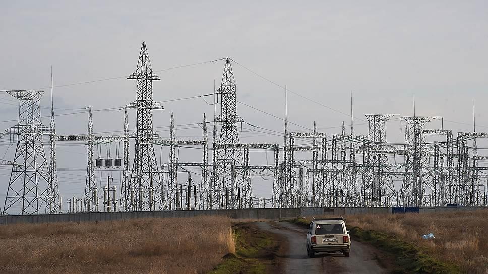 Полуостров медленно подключается к российской энергосистеме
