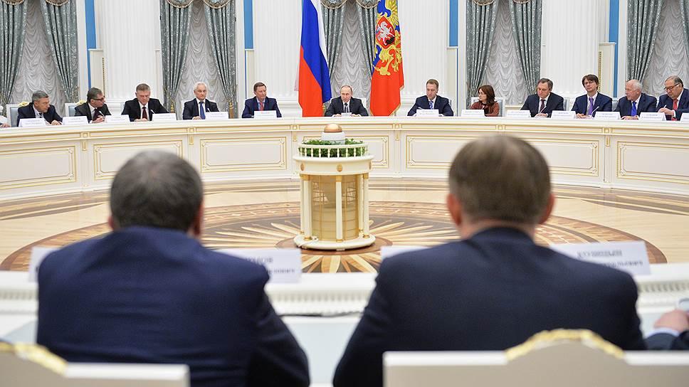 Круг познается в беде / Владимир Путин прямо сказал крупному бизнесу, что о нем думает