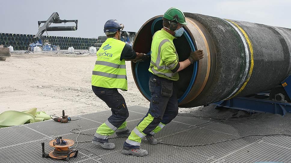 Западные подрядчики борются за право строить Nord Stream-2