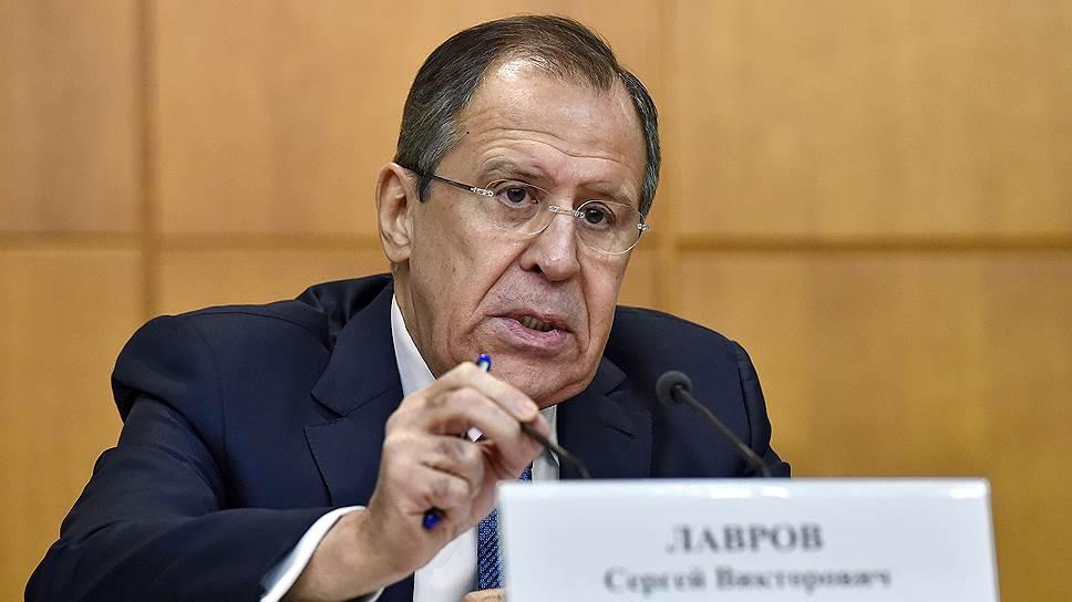 Глава МИД РФ рассказал, что пошло не так в 2015 году и кто в этом виноват