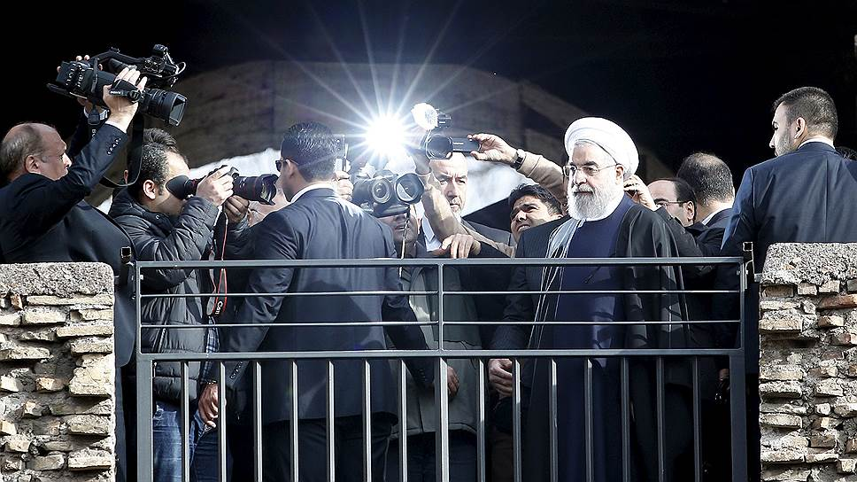 Иран привез себя в Европу