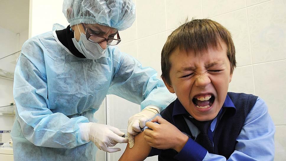 Вакцины не пускают на прививку