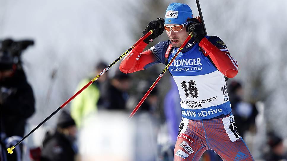 Антон Шипулин настрелял медалей в Америке