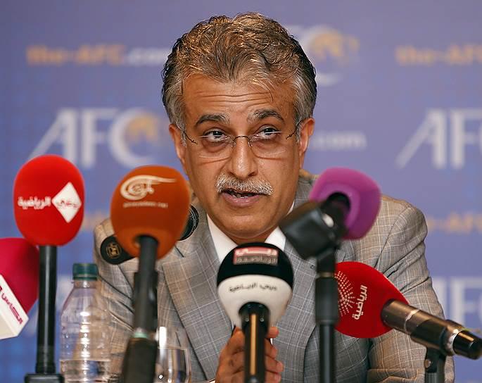 Сальман бен Ибрахим аль-Халифа, глава Азиатской конфедерации футбола