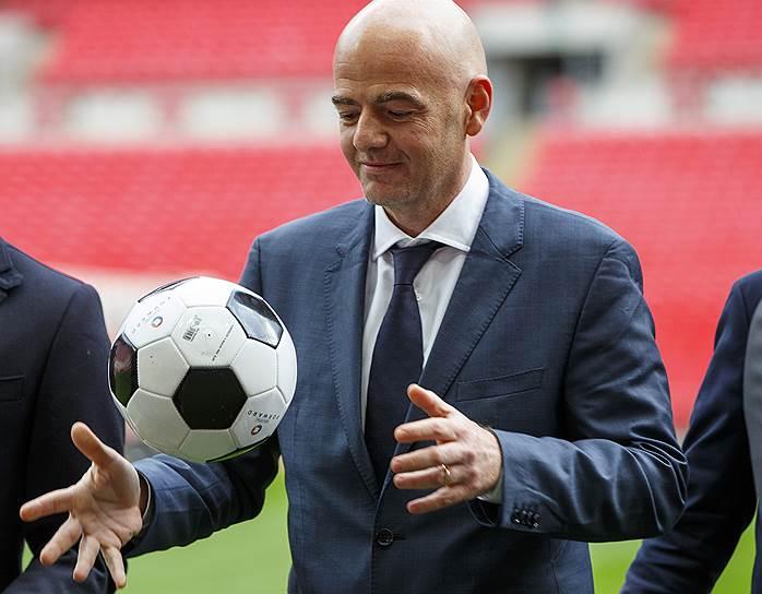 Джанни Инфантино, генеральный секретарь UEFA