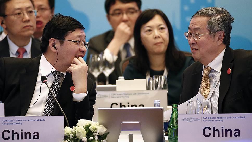 Китай успокоил «двадцатку»