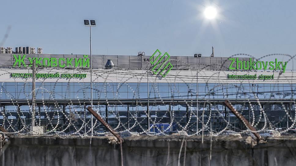Аэропорту Раменское поставили потолок