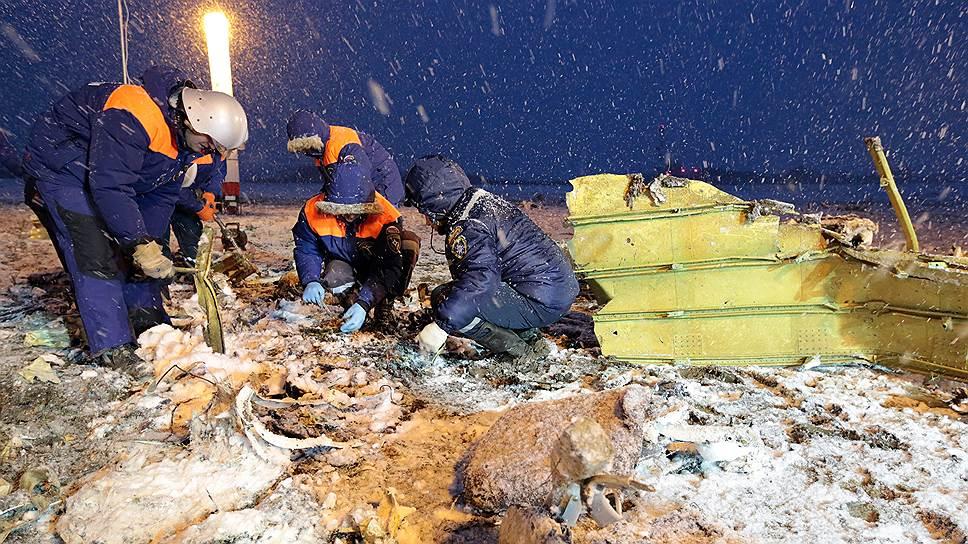 В катастрофе Boeing заподозрили тяги