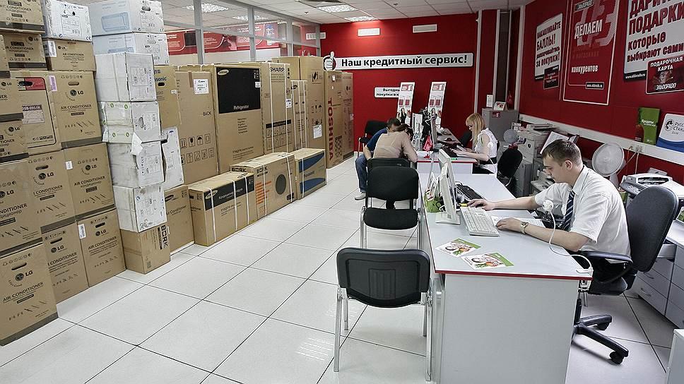 Банки латают дыры в торговых сетях