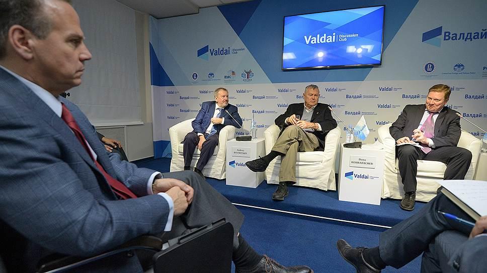 Вашингтонские дебаты продолжились в Москве