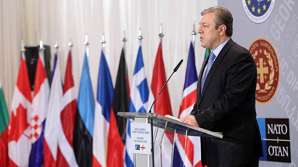 НАТО вступило в Грузию на неделю
