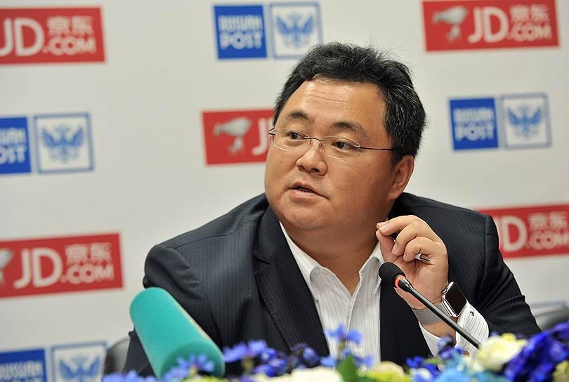 Президент международной бизнес-группы JD.com Виктор Сюй