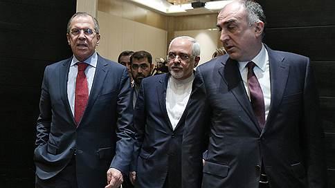 В важное время в нужном месте // Главы МИДов РФ, Азербайджана и Ирана обсудили в Баку Нагорный Карабах