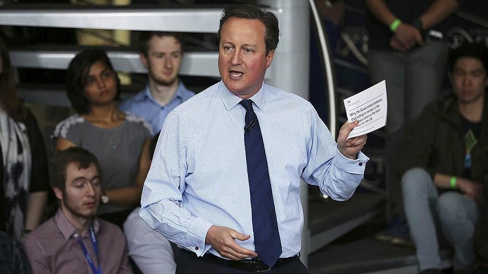 Как премьер Британии отчитался по панамскому счету