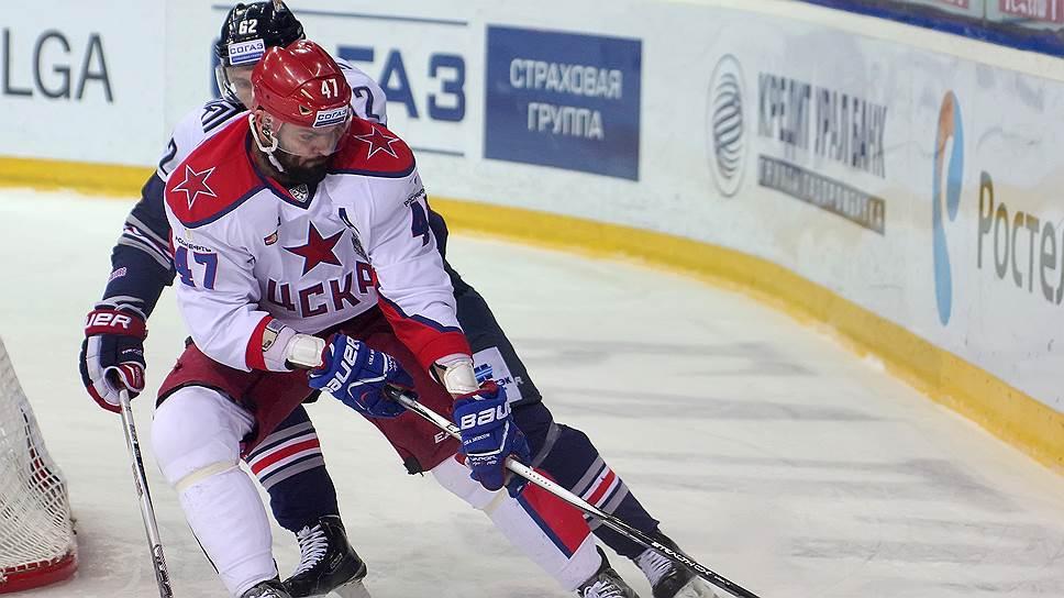 ЦСКА отнял у «Металлурга» последнюю