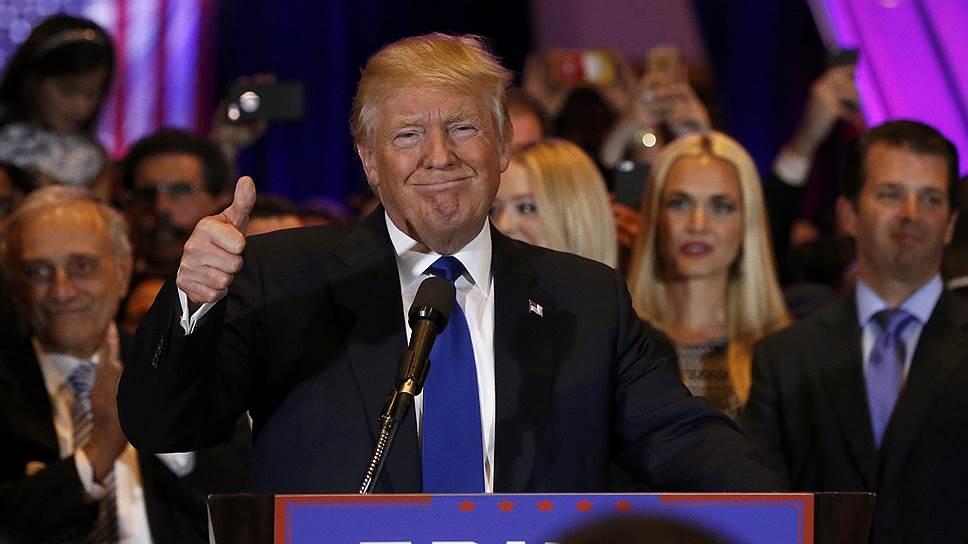 Хиллари Клинтон и Дональд Трамп упрочили лидерство по итогам ключевых праймериз