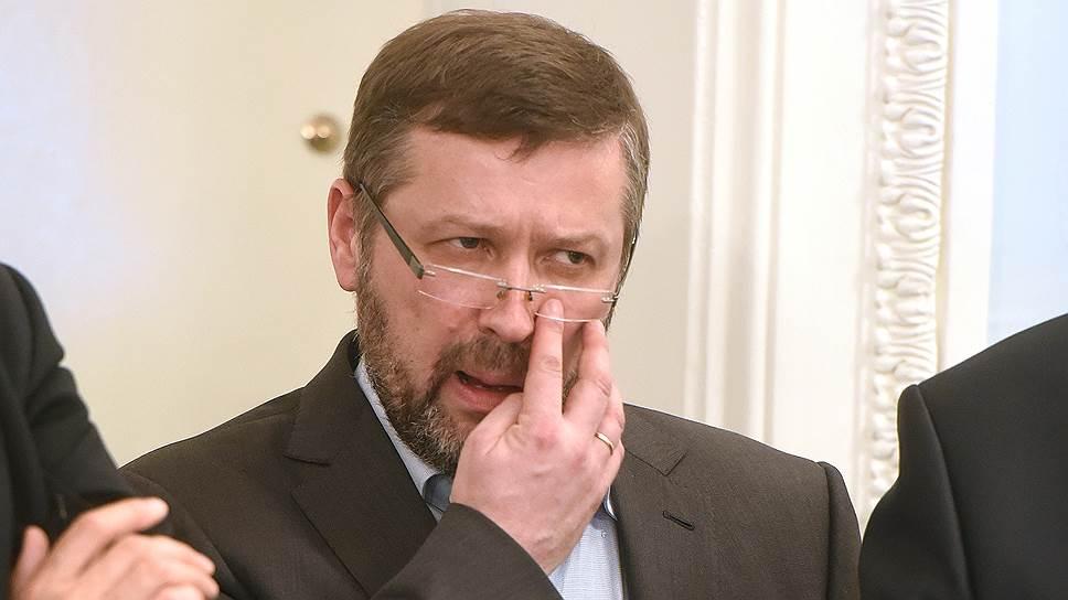 Архитектор Евгений Герасимов во время заседания Совета по культурному наследию по рассмотрению нового проекта судебного квартала