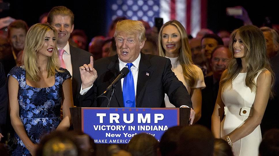 Как Дональд Трамп досрочно вышел в финальную стадию выборов президента США