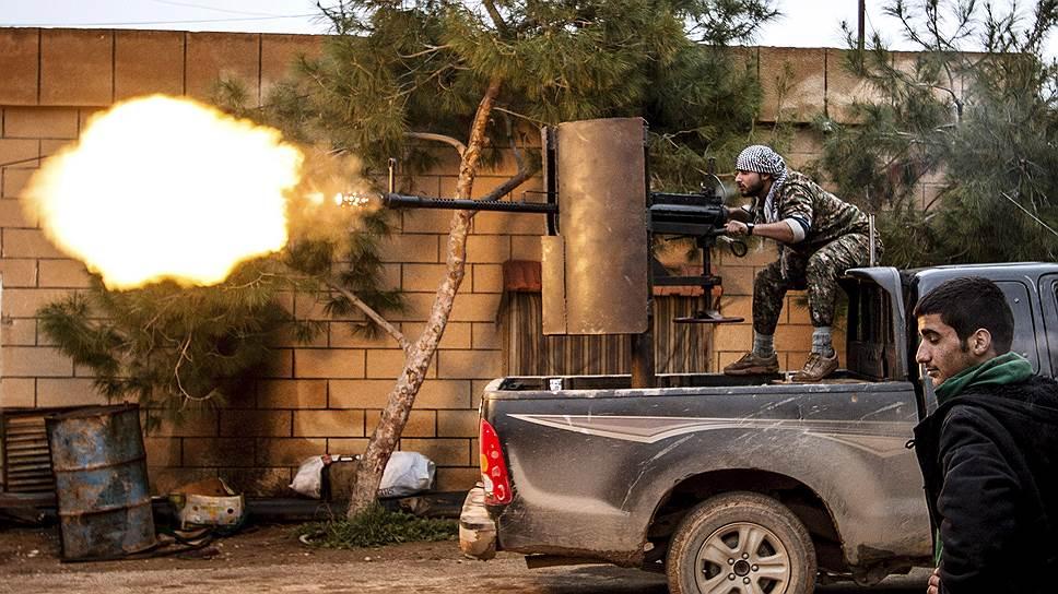 Сирийские курды дошли до Парижа