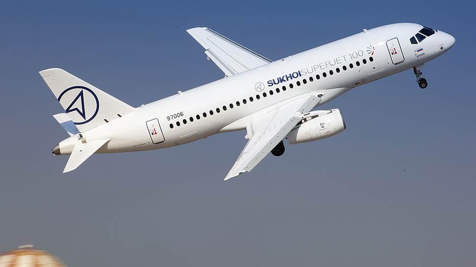 SSJ100 улетят в Европу на льготных условиях