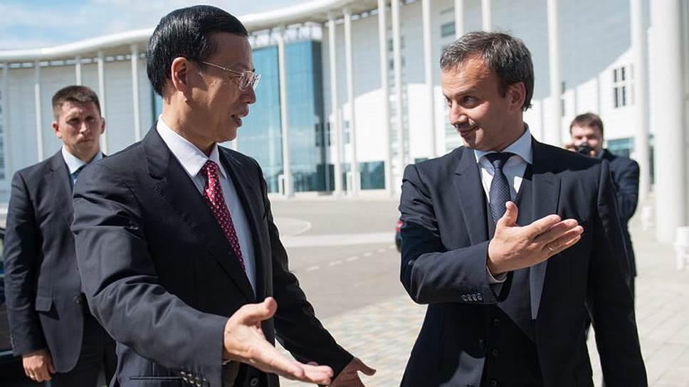 Как бизнесмены РФ и Китая обменялись проблемами