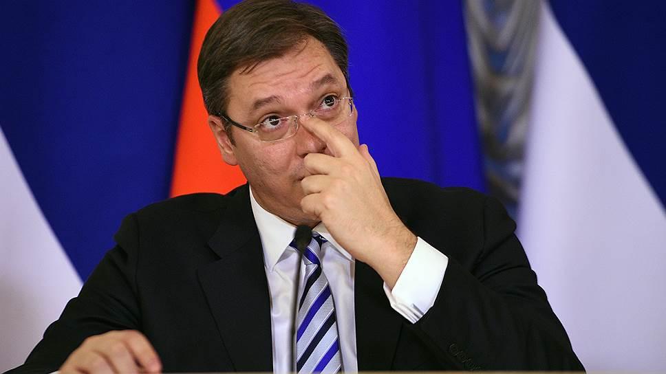Почему после блицвизита в Россию премьер Сербии не поехал в Европу и США