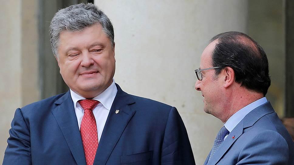 Петр Порошенко проверил на прочность антироссийские санкции