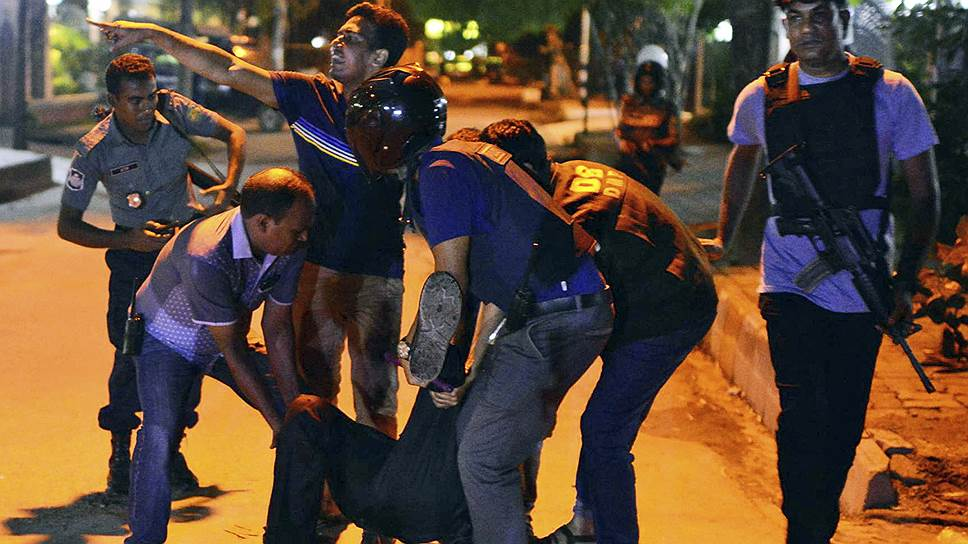 ИГ разбудило террористов в Бангладеш