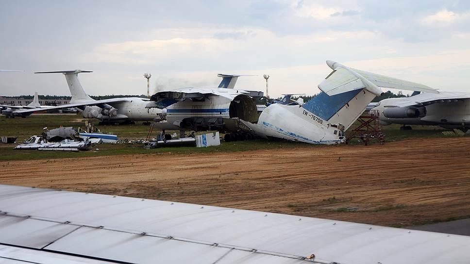 Почему экипаж Ил-76 не справился с управлением самолета