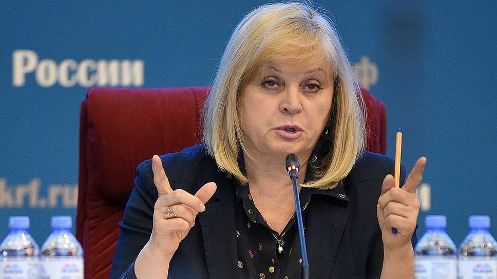 Как Элла Памфилова призвала европейцев на думские выборы