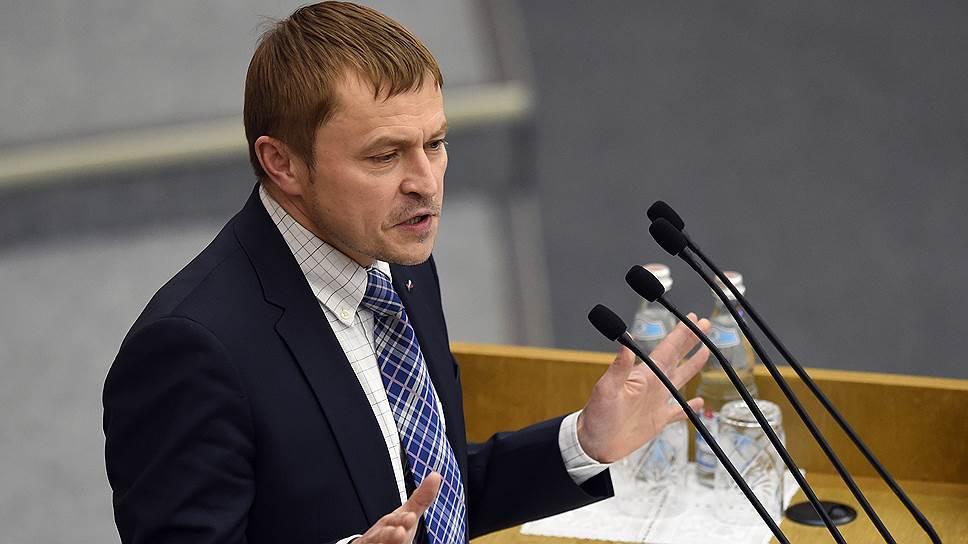 Президент Общероссийской общественной организации малого и среднего предпринимательства «Опора России» Александр Калинин