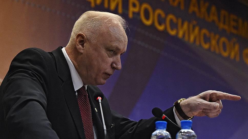 Уголовное дело о получении взяток высокопоставленными сотрудниками Следственного комитета России лично возбудил председатель СКР