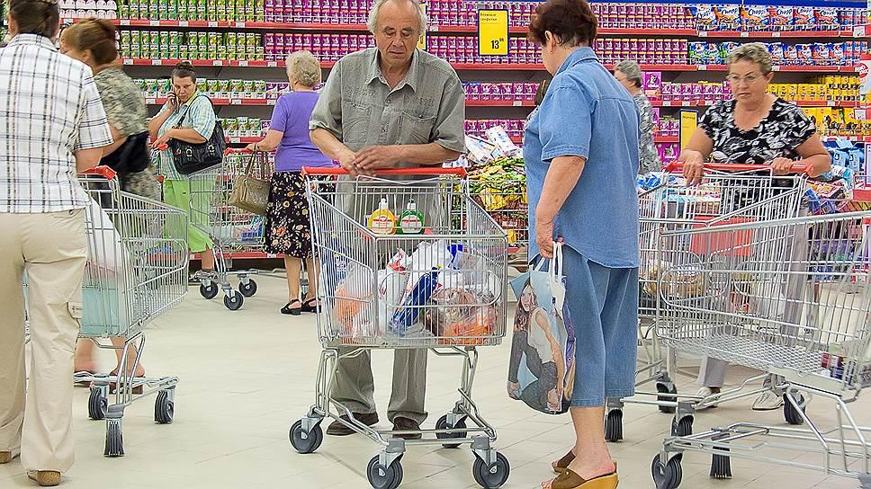 Почему россияне боятся потери продуктов, а не работы