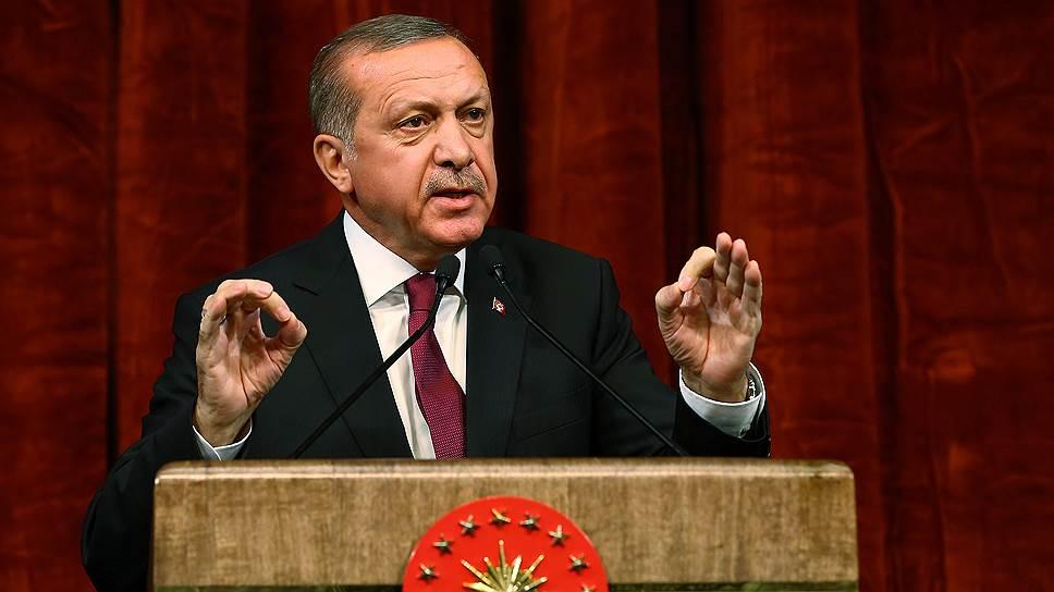Президент Турции Реджип Тайип Эрдоган