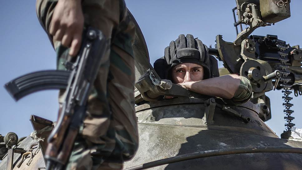 В битве за Алеппо сирийские правительственные войска вынуждены были перейти к обороне