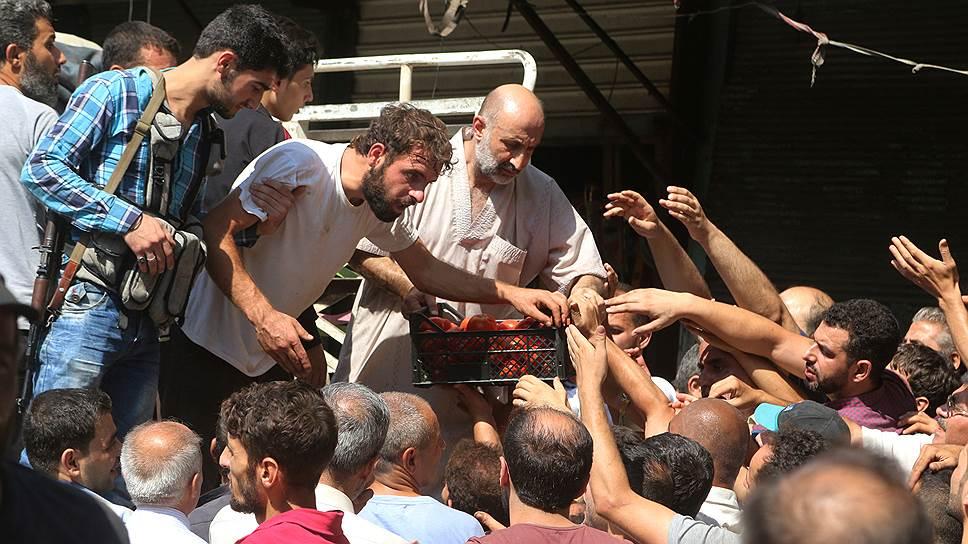 Как Россия открыла «гуманитарные окна» в Алеппо