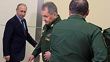 Владимир Путин пошел на усиление границ