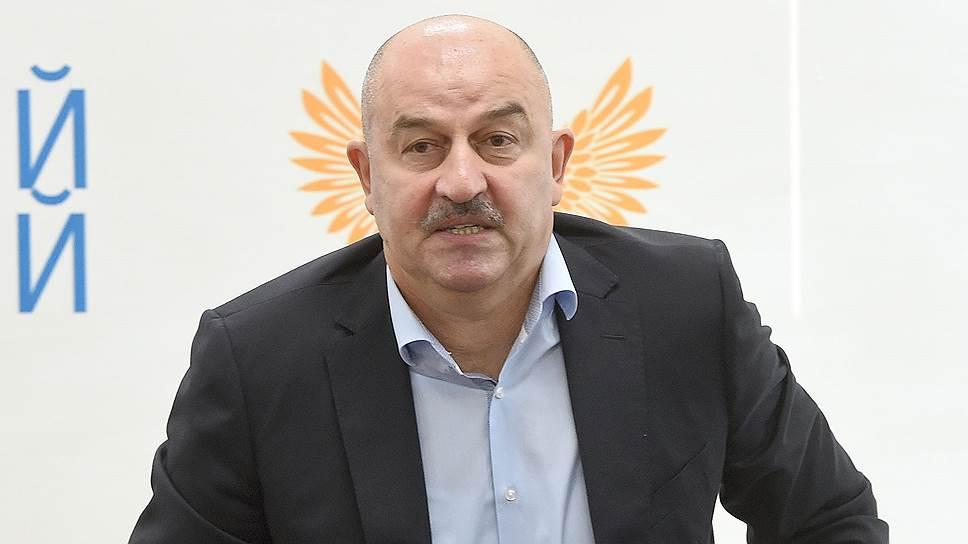 Как Станислав Черчесов был назначен главным тренером сборной