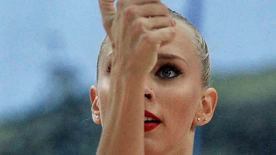 Российская гимнастка Яна Кудрявцева