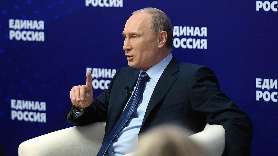Почему Владимир Путин дал разрешение на использование своих высказываний в предвыборной кампании «Единой России»
