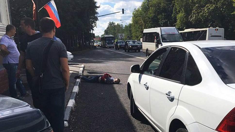 В Подмосковье застрелены два чеченца, напавшие на полицейских