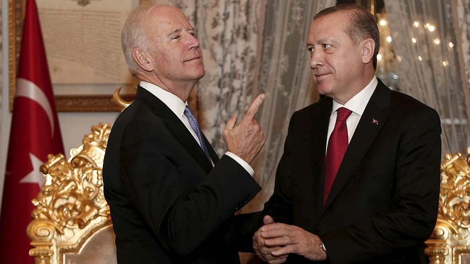 Повестка визита вице-президента США Джозефа Байдена в Турцию