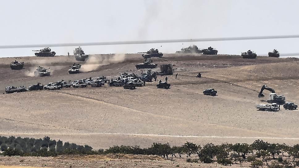 Как турецкую операцию одобрил прибывший с визитом в Анкару вице-президент США Джо Байден
