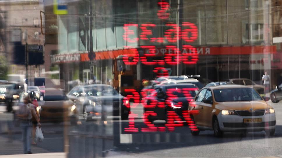 Как нефть потянула рубль за собой