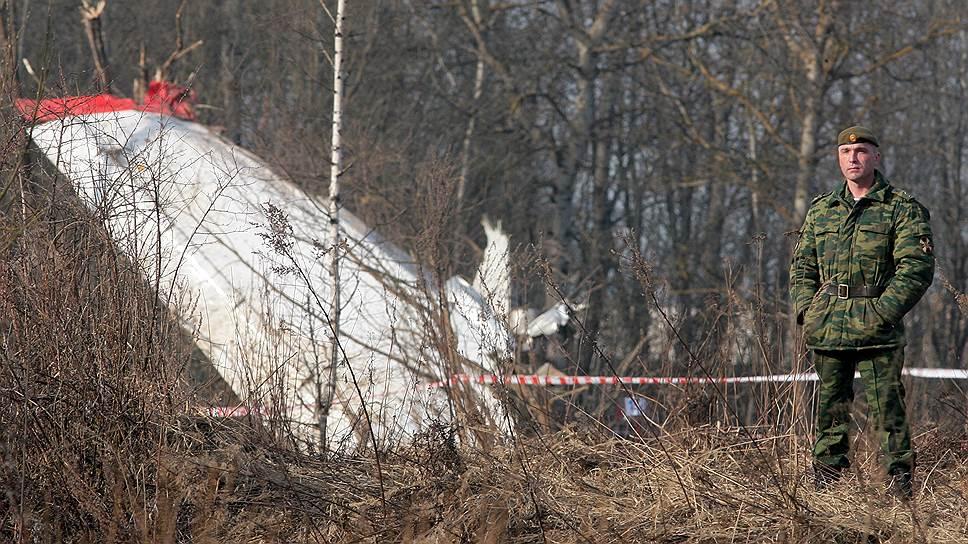 Польские эксперты утверждают, что президентский лайнер начал разрушаться еще в полете