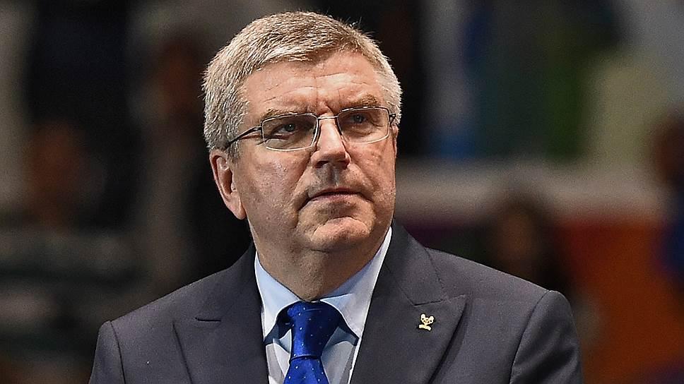 Президент МОК рассказал, как будет расследоваться российское допинговое дело