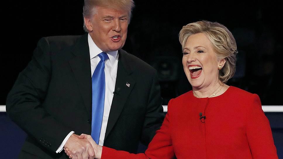 Как Хиллари Клинтон и Дональд Трамп провели первые дебаты