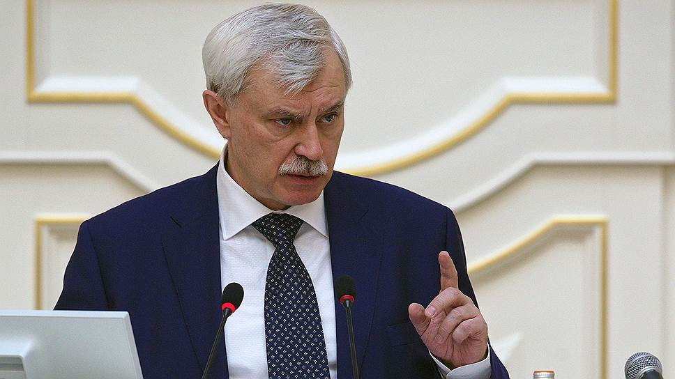 Глава Санкт-Петербурга Георгий Полтавченко требует от подчиненных «прекратить разговоры» о его уходе с губернаторского поста