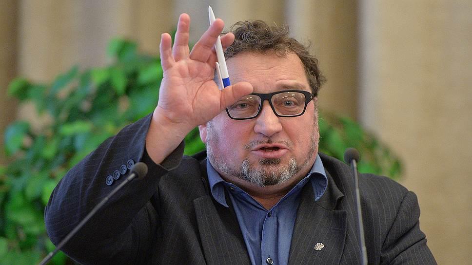 Член Совета при президенте России по развитию гражданского общества и правам человека Андрей Бабушкин